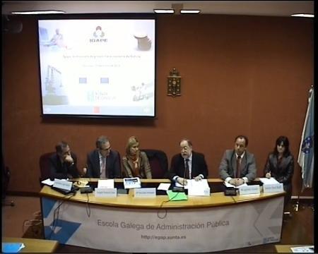 Mesa Redonda - Seminario Desafíos de la Gestión Pública Democrática y las Políticas Públicas en Brasil y la CCAA de Galicia